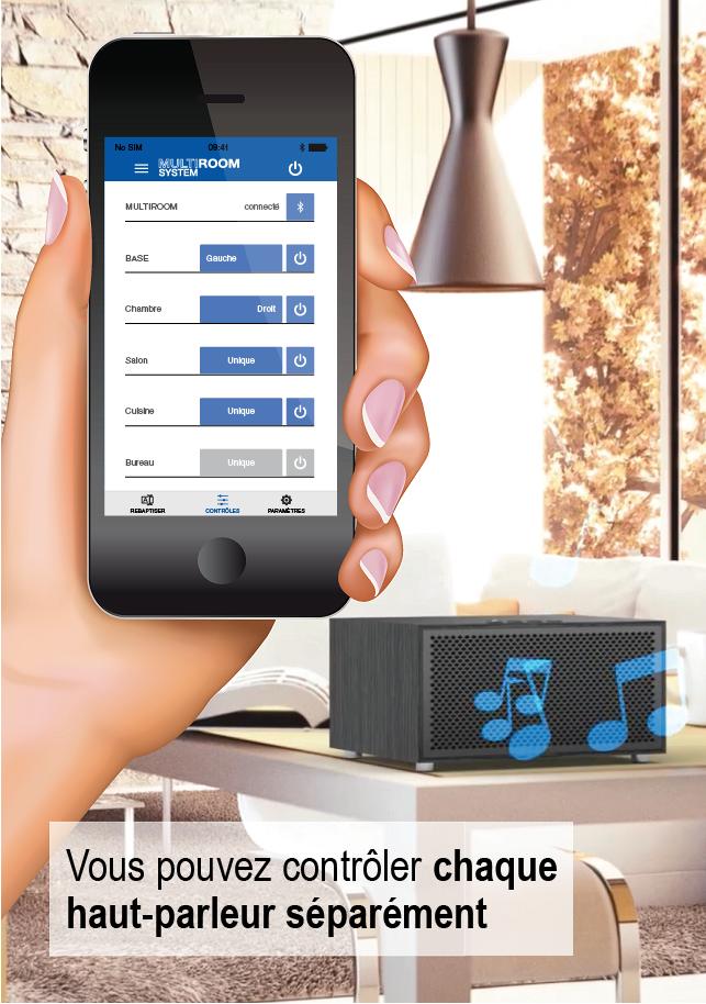 Multiroom System Mobile Applis